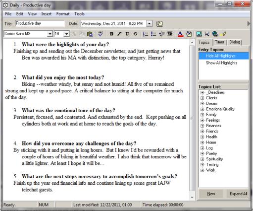 Journal_Software_TemplatedEntryExample